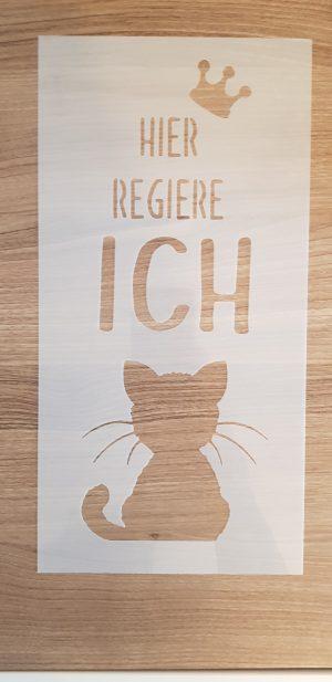 Hier regiere ich / Katze