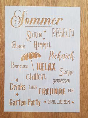 Sommer Regeln