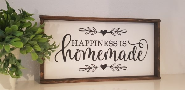 "Holzschild ""Homemade"""