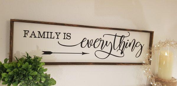 "Holzschild ""Family"""
