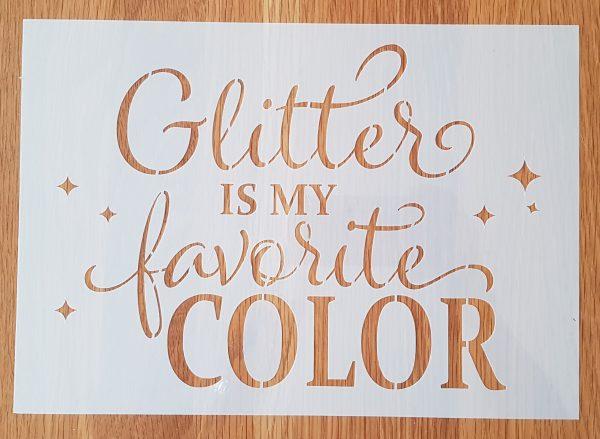 Glitter is my …