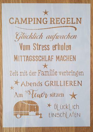 Camping Regeln
