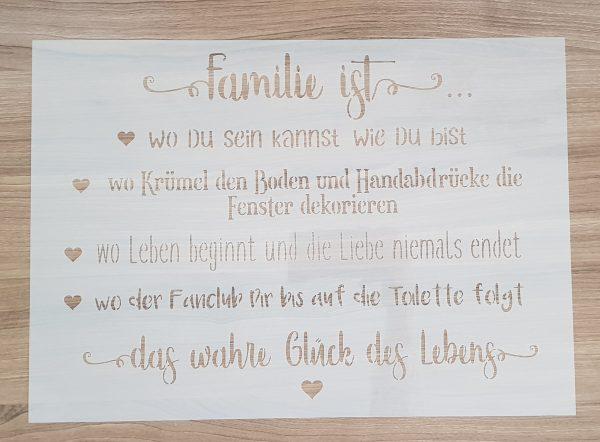 Familie ist … #2