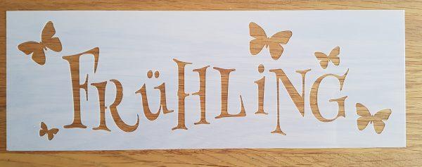 Frühling m.Schmetterlingen