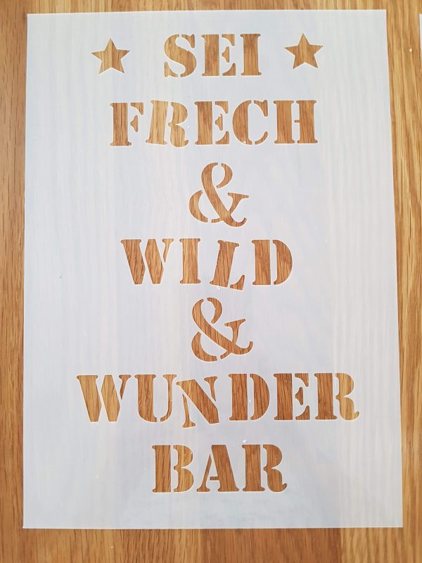 Sei Frech & Wild A4