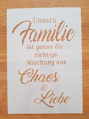 Unsere Familie / Chaos