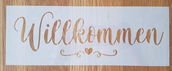 Willkommen mit Herz